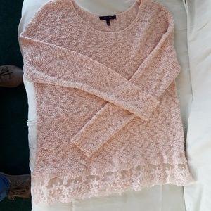 Olivia Sky Pink Sweater